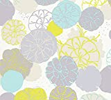 Esprit Vliestapete Dream of Spring Tapete floral 10,05 m x 0,53 m blau grau grün Made in Germany 327631 32763-1