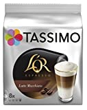 Tassimo L'OR Latte Macchiato Coffee (Pack of 5, Total 40 T discs/pods)