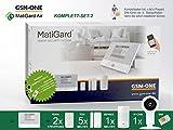 GSM Alarmanlage MatiGard Air von GSM-One, KOMPLETTPAKET 2 inkl. IP-CAM und SIM-Karte