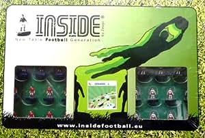 Inside Zeugo Subbuteo Football de table Espagne vs Allemagne
