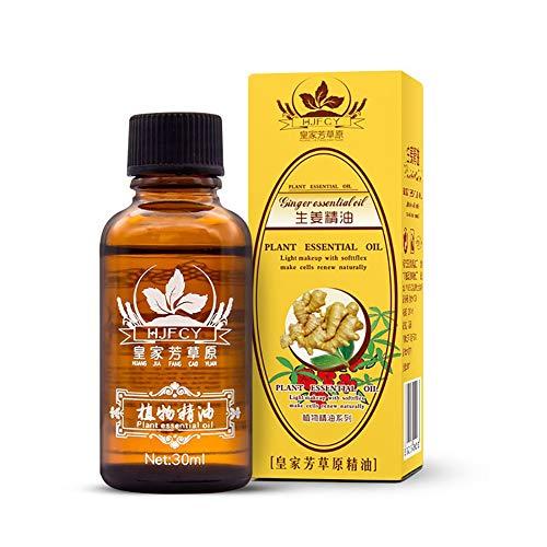 ngweröl, Lymphatic Drainage Ginger Oil für Aromatherapie und als Basisöl für Massageöle ()