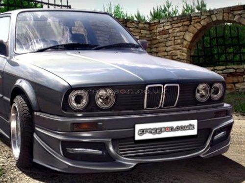 Sous pare-chocs spoiler avant pour BMW E30Cabriolet d'occasion  Livré partout en Belgique