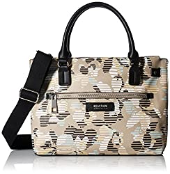 Kenneth Cole Reaction Uptown Satchel, Stripe Floral