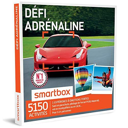 SMARTBOX - Coffret Cadeau homme femme - Défi adrénaline - idée cadeau - 5150...
