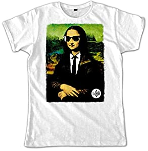 Video Delta - Le Iene Color Gioconda Camiseta, Para hombre, de talla L