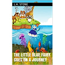 The little blue fairy goes on a journey (English Edition)