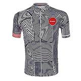 Inovey Unisexe Polyester Extérieur Cheval Cyclisme Manches Courtes Vélo Maillot Vtt Vélo Sports Vêtements Été -L