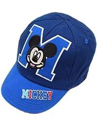 Bébé garçon Mickey Mouse Mickey Casquette de baseball d'été Chapeau M est pour 0-6m jusqu'à 2-4Y