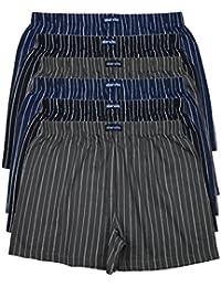 MioRalini 6 Imprimés et Doux 100% Coton Hommes Boxeurs Short Boxer Doux  Disponibles dans des Couleurs à la Mode… 1a748c8ff5a