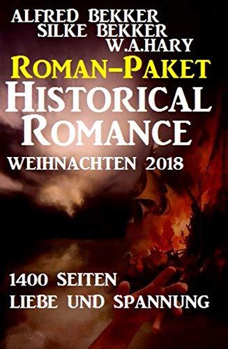 Buchcover Roman-Paket Historical Romance Weihnachten 2018: 1400 Seiten Liebe und Spannung