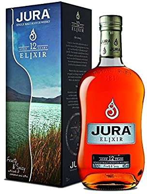 The Isle of Jura 12 Year Old Elixir Single Malt Scotch Whisky 35cl Bottle