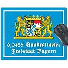 "Mousepad ""0,0456 Quadratmeter Freistaat Bayern"""