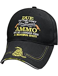 f4d9a4db646d Black Embroidered Cost Of Ammo Don t Tread On Me Timber Rattler Snake Cap