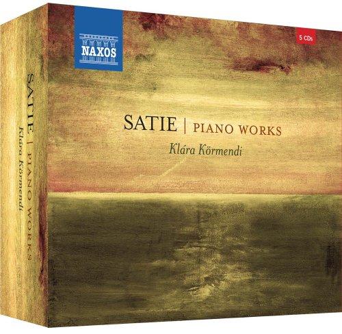 Satie: Piano Works Box (Volumes 1-5) [Klára Körmendi] [Naxos: 8505237] Test