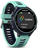 Garmin Forerunner 735XT GPS Multisport and Running Watch - Midnight Blue/Frost Blue