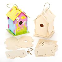 Baker Ross Wood craft For Kids Arts and Crafts