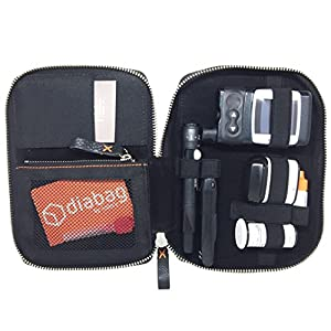 diabag Diabetikertasche ONE plus Nylon, Schwarz, 205
