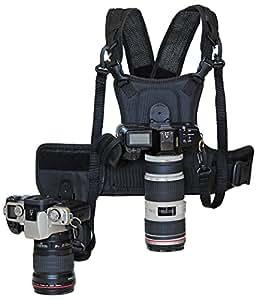 Cotton Carrier Weste und Halfter für 2 Kameras
