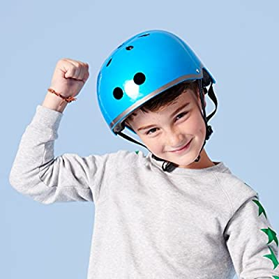 Micro Scooters Safety Helmet Metallic Dark Blue For Boys And Girls Cycling Bike from Micro Scooters