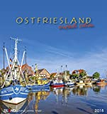 Ostfriesland 2018: Postkartenkalender -