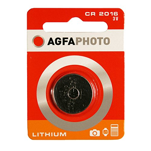 AgfaPhoto Lithium Pile bouton batterie CR 2016