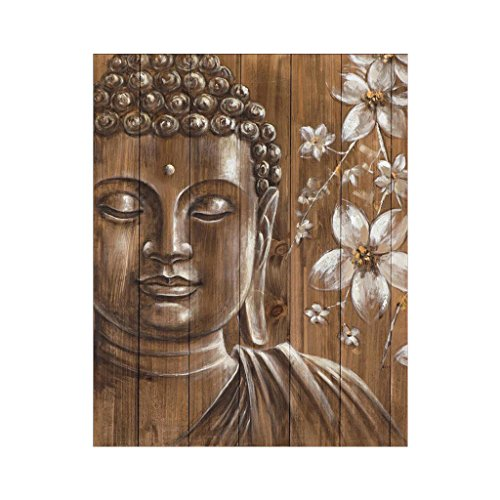 Kofun 5D Pittura Diamante DIY by Numbers Kit, 5D Pittura Dipinta Fai da Te dai Numeri Diamanti Ricamo Pittura A Punto Croce Kit Fai da Te Home Decor Statua del Buddha A 30x36 cm