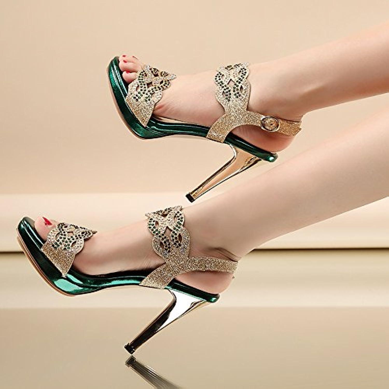 VIVIOO Sandalias De Mujer De Sandalias De Tacón Alto Zapatos De Tacón Alto Sandalias De Tacón Alto Plataforma... -