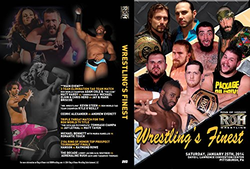 Official Ring of Honor ROH - Wrestling's Finest 2014 Event DVD