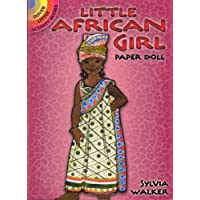 Little African Girl Paper Doll (Dover Little