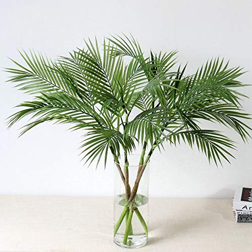 90 CM Grün Künstliche Palm Blatt Kunststoff Pflanzen Garten Home Dekorationen Scutellaria Tropical Baum Gefälschte Pflanzen