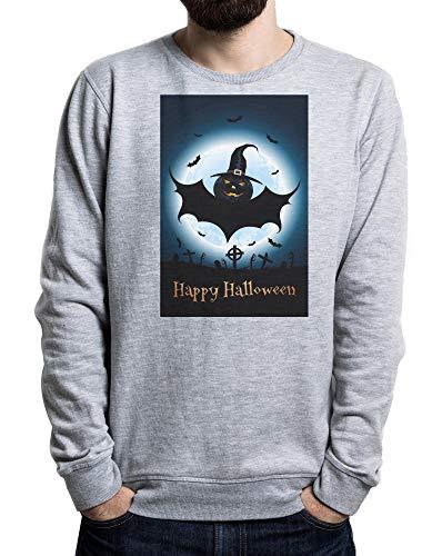 py Monster, Halloween Vampires Men's Sweater Grau Large ()
