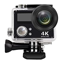 Action Camera, Greatic Waterproof Action Camera Pp-v3 Hd 4k Wifi Waterproof Sports Camera With 2 Inch Display Screen