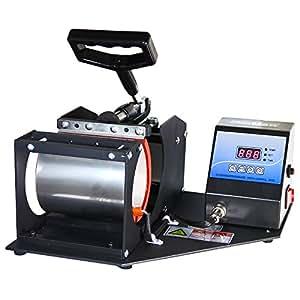 PixMax Presse transfert thermique, tasse-presse, presse à transfert par sublimation, pour tasse