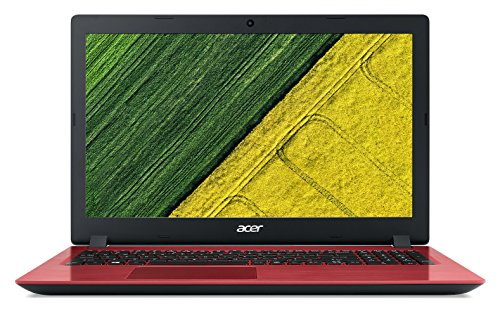 Acer Aspire A315-51 15.6 -Inch Laptop - (Red) (Intel Core i3-6006U 2.0 GHz, 8 GB RAM, 1 TB HDD, Windows 10 Home)