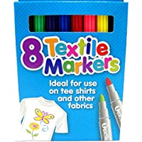 Quality Colored Fabric Markers T Shirt Pens Fabric Pens Marker Pen Textile Markers 4.8mm Bullet Tips