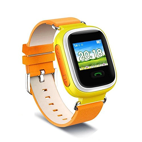 NewPointer Smartwatch Kid Smart Watch GPS SOS Location Finder Device Tracker Wearable Phone Watch