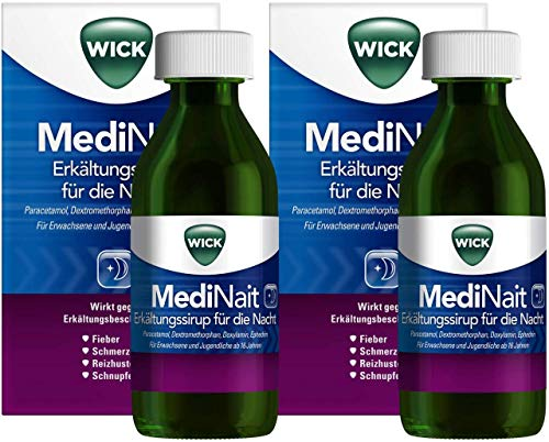 WICK MediNait Erkältungssirup für die Nacht 2 x 180 ml -