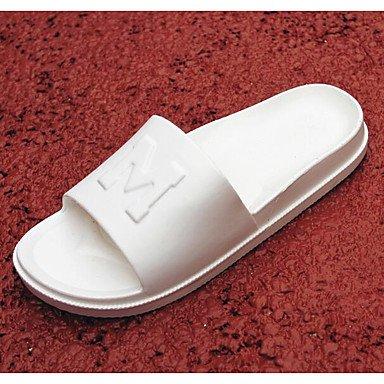 Stivali inverno delle donneunità di elaborazione casuale tacco grosso, sandali neri sandali Black