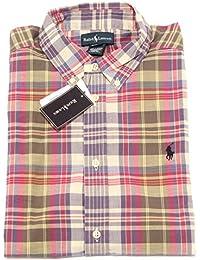 f060b0a0b1 Amazon.it: camicia a quadretti - Ralph Lauren: Abbigliamento