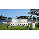 Generic NV _ 1001006307-lm-52-eur * 1* * 6307* * Stahl Event CIAL 8304Edelstahl commerc Commercial 8Brenner 304STA Grill Plus Cover S Cover Catering Gas BBQ Grill Plus