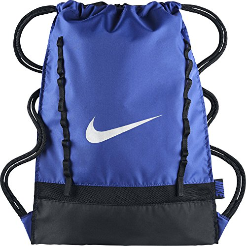 Nike Brasilia 7 Gymsack Mochila, Hombre, Azul (Game Royal / Black / White), Talla Única