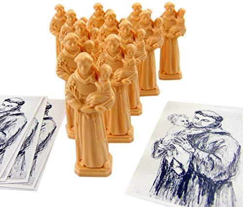 Westman Works St Anthony Home Finder Kit St. Statue & Gebet zum Kauf eines Hauses Dutzend Großpackung, 12 Stück