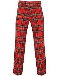 Murray Broad Sword - Pantalon de golf - tartan Royal Stewart - rouge