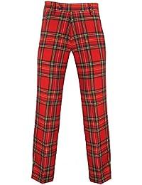 Murray Broad Sword - Herren Golfhose - Schottenmuster - Royal Stewart-Tartan Rot - US 34