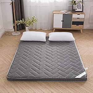 SHIN Zusammenklappbar Futon Matratze Japanisches Faltende Tatami Matratze Folding Boden Matte Anti-rutsch und…