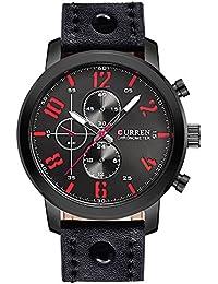 e20b25dc8b93 Nuevo producto de moda para hombre reloj negro reloj dorado reloj Business  Casual reloj muñeca relojes