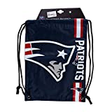 Forever Collectibles New England Patriots Cropped Logo NFL Drawstring Backpack