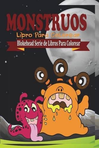 Monstruos Libro Para Colorear