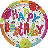23cm Geburtstag Jamboree Party Teller, 8Stück