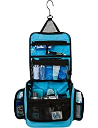 Hanging Toiletry Bag with TSA Compliant Kit for Travel Essentials / Cosmetics